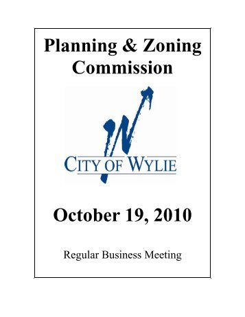 Zoning Board of Adjustments
