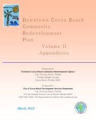 Community Redevelopment Plan Volume 2 Appendices FINAL ...