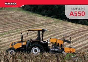 VT LINHA LEVE A550.indd - Valtra