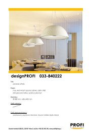 PROFIDesign 033-840222 - Profi Lighting