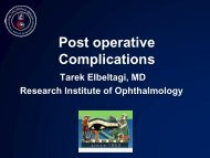 Late Postoperative Complications - RM Solutions