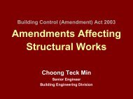 Amendment Affecting Structural Works - Building & Construction ...