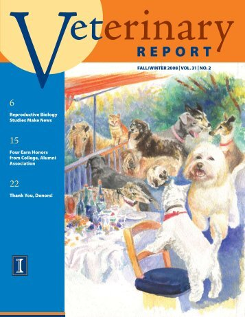 rePort - University of Illinois College of Veterinary Medicine ...