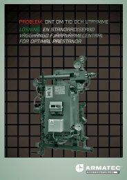 Vägghängda fjärrvärmecentraler AT 8477A. 2011 (PDF ... - Armatec