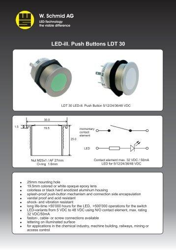 data sheet! - LED