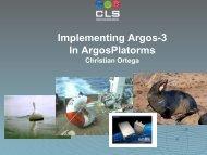 Argos-3 New Capabilities