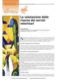 Dal territorio. Veneto: La valutazione delle risorse nei ... - SIVeMP