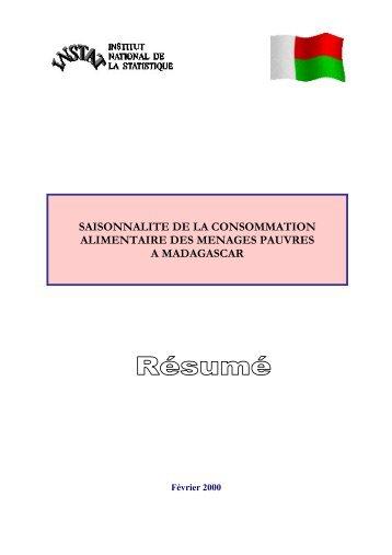 pdf 105 ko - Institut national de la statistique malgache (INSTAT)