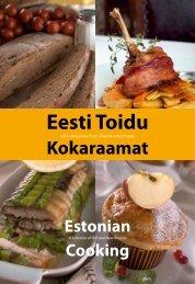 Eesti toidu kokaraamat/Estonian cooking