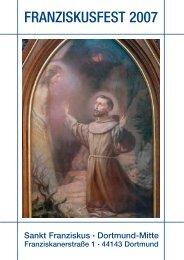 Franz von Assisi – unser Gemeindepatron - St. Franziskus Kirche