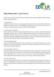 Ring of Kerry Trail (7 Tage/6 Nächte) - Irish-net