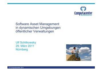 Software Asset Management in dynamischen Umgebungen ...