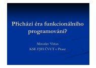 Přichází éra funkcionálního programování? - cssi-morava.cz