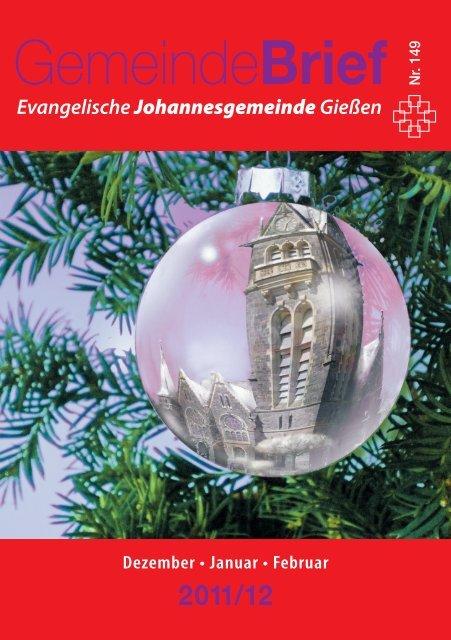 Gemeindebrief Dezember 2011 - Februar 2012 - Ev ...