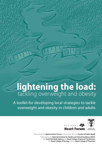 Lightening the Load: tackling overweight and obesity - Kent Sport