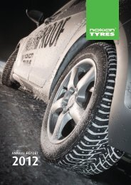 Annual Report 2012 (pdf) - Nokian Tyres