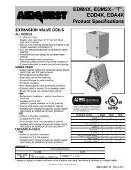"EDM4X, EDM2X−""T"", EDD4X, EDA4X - Home Information Packages"
