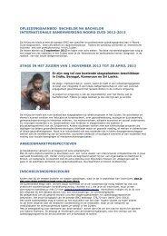 pdf informatie banaba ISNZ opleiding en stages 2012-2013