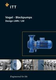 LM LMN_Liste 1130_EN_0211.indd - Pumpenfabrik Ernst Vogel