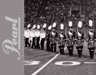 2010 Marching Catalog