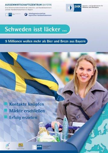 Markterschließung Schweden - Außenwirtschaftszentrum Bayern