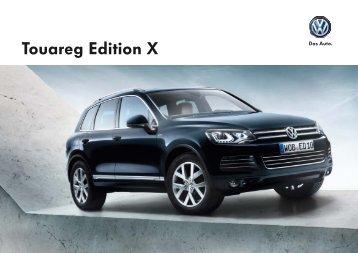 "(K) Touareg ""Edition X"" - Volkswagen AG"