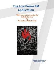 The Low Power FM application - Prometheus Radio Project