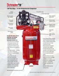 5 HP Two Stage, 175 PSI Professional Air Compressor