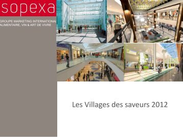 le village - Sopexa