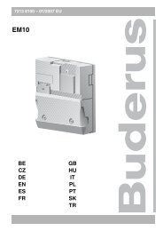 EM10 - Buderus