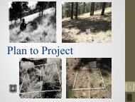 Plan to Project (NEPA) – Dave Brewer