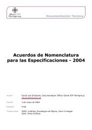 Ghent PDF Workgroup Documentation Template - Ghent Workgroup