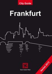 City Guide Frankfurt D - East meets West