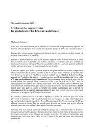 le rapport (pdf) - Ministère de la Culture et de la Communication