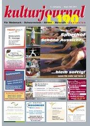 September/Oktober 2011 - Wedemark Journal und Kulturjournal190