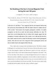 No Doubling of Open Flux.pdf - Leif and Vera Svalgaard's