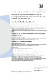 Programm für den Zeitraum 27. Februar – 2. März 2012 Das ...