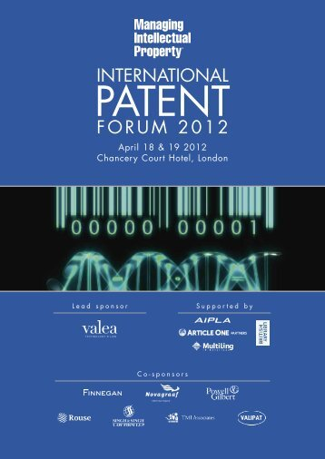 Supported - Managing Intellectual Property