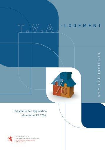 TVA Logement - Administration de l'Enregistrement et des Domaines