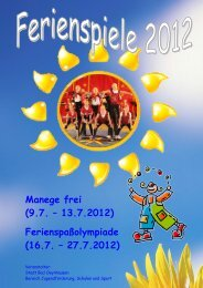 Manege frei (9.7. – 13.7.2012) - Bad Oeynhausen