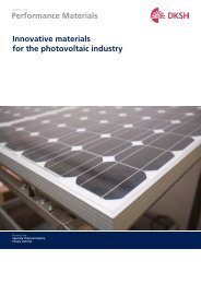 Photovoltaic Industry Brochure (PDF - DKSH Great Britain