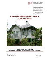 Acquis écotouristiques dans la Région du Mont Came