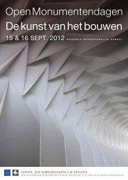 De kunst van het bouwen - Monumenten & Landschappen - Région ...