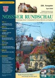 Nossener Rundschau vom April 2008 - Nossner Rundschau