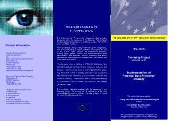 Project Flyer Data Protection - Ludwig Boltzmann Institut für ...