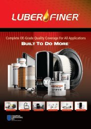 Complete OE-Grade Quality Coverage For All ... - Luber-finer