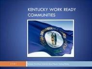 Kentucky Work Ready Community Program - Kentucky Workforce ...