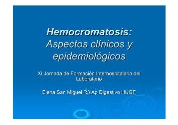 Hemocromatosis: Aspectos clínicos y epidemiológicos