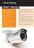 brochure telecamere supra 2012 - Advanced Innovations - Page 6
