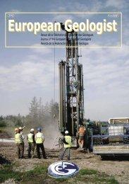 EGM 26new.pdf - European Federation of Geologists
